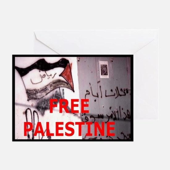 Free Palestine Greeting Cards (Pk of 20)