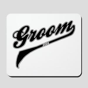 Sporty Groom 2008 Mousepad