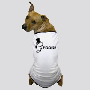 Groom with Jaunty Top Hat Dog T-Shirt