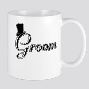 Groom with Jaunty Top Hat Mug