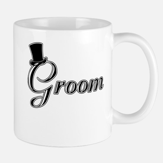 Groom with Jaunty Top Hat Mug