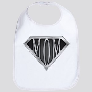 Supermom(metal) Bib