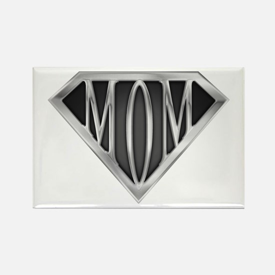 Supermom(metal) Rectangle Magnet