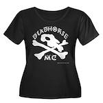 DeadHORSe MC Women's Plus Size Scoop Neck Dark T