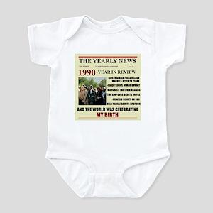 born in 1990 birthday gift Infant Bodysuit