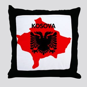 Kosova Throw Pillow