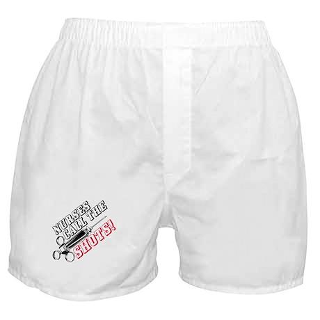 Nurses Call The Shots! Boxer Shorts