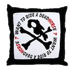 DeadHORSe MC Throw Pillow