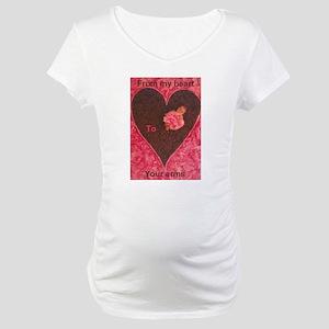 Heart! Maternity T-Shirt