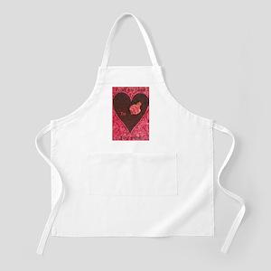 Heart! BBQ Apron