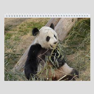 Giant Panda Bear 002 Wall Calendar