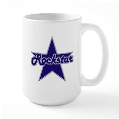 Retro Rockstar Large Mug