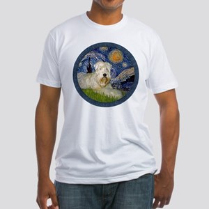 Starry / Wheaten (#1W) Fitted T-Shirt