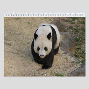Pandas 003 Wall Calendar