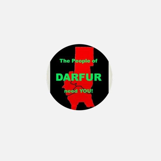 Funny Darfur Mini Button