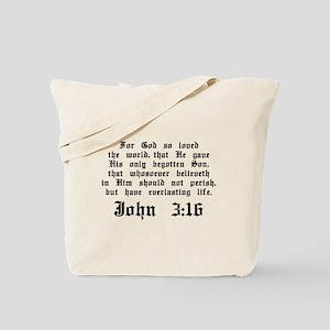 John 3:16 Tote Bag