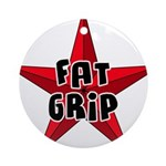Fat Grip Ornament (Round)
