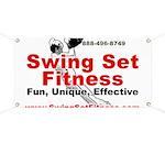 Fitness Banner - Swing Set Fitness