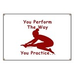 Gymnastics Banner - Perform