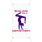 Gymnastics Banner - Handstand