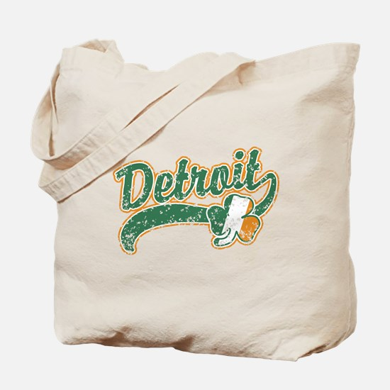 Detroit Irish Tote Bag