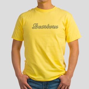 Dearborn (blue) Yellow T-Shirt