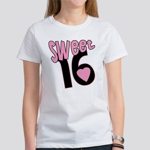 Sweet 16 Funky Pink Women's T-Shirt