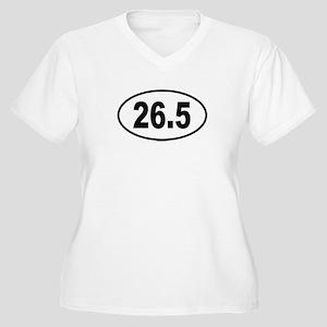 26.5 Womes Plus-Size V-Neck T-Shirt