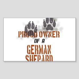 German Shepard Rectangle Sticker