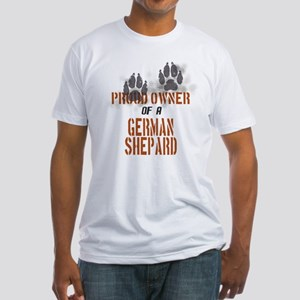 German Shepard Fitted T-Shirt