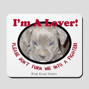 Pit Bull Puppy Anti Dog Fight Mousepad
