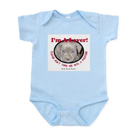 Pit Bull Puppy Anti Dog Fight Infant Bodysuit