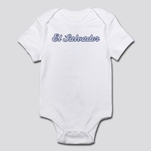 El Salvador (blue) Infant Bodysuit