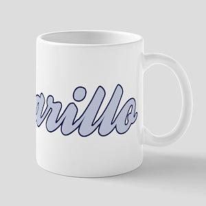 Amarillo (blue) Mug