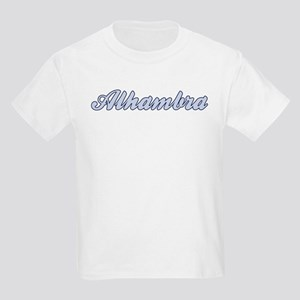 Alhambra (blue) Kids Light T-Shirt