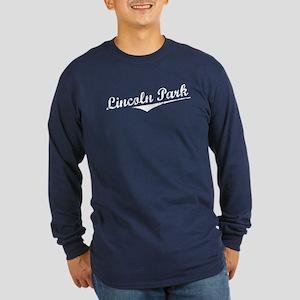 Lincoln Park Long Sleeve Dark T-Shirt