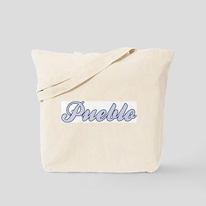 Pueblo (blue) Tote Bag