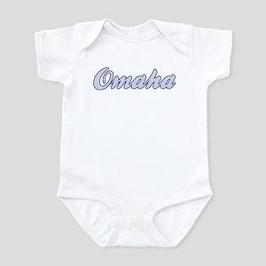 Omaha (blue) Infant Bodysuit