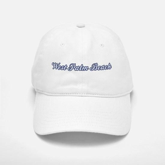 West Palm Beach (blue) Baseball Baseball Cap
