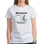Funny Maryland Motto Women's T-Shirt