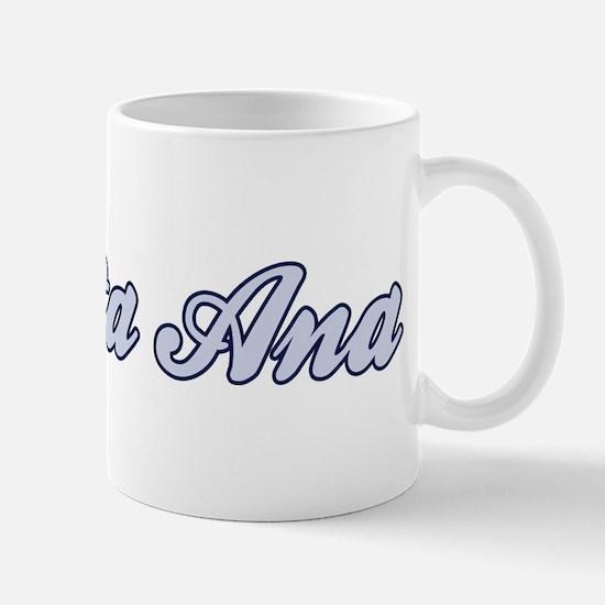Santa Ana (blue) Mug