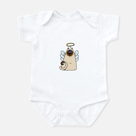 holy kitty (no txt) Infant Bodysuit