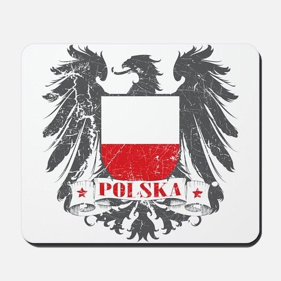 Polska Shield Mousepad