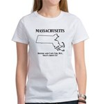 Funny Massachusetts Motto Women's T-Shirt