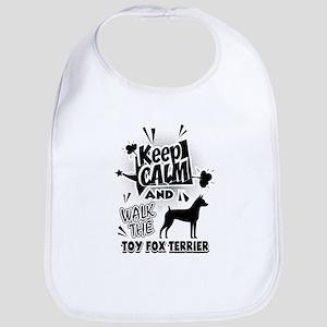 Toy Fox Terrier Baby Bib