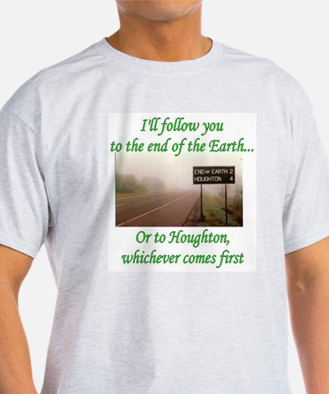 End of the Earth Ash Grey T-Shirt