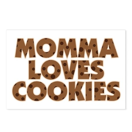Momma Loves Cookies Postcards (Package of 8)
