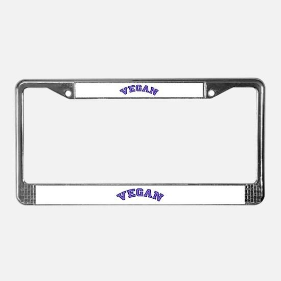 Vegan License Plate Frame
