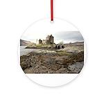 Eilean Donan Castle, Scotland Round Ornament