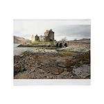Eilean Donan Castle, Scotland Throw Blanket